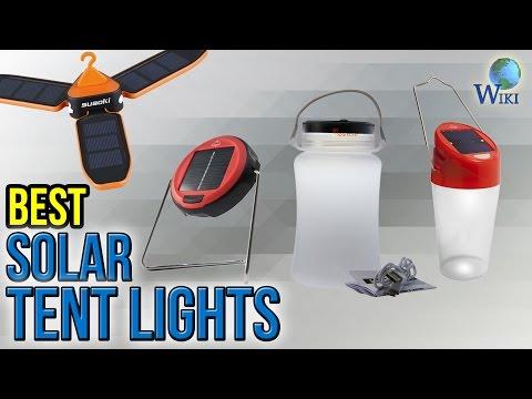 10 Best Solar Tent Lights 2017