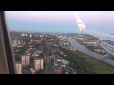 Flying Over & Landing at Glasgow Airport [GLA][29 July 2016][78]
