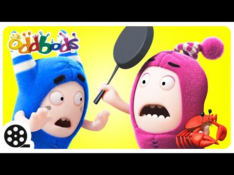 Thumbnail: Cartoon | Oddbods - GRAB THE CRAB | The Oddbods Show | Funny Cartoons For Kids