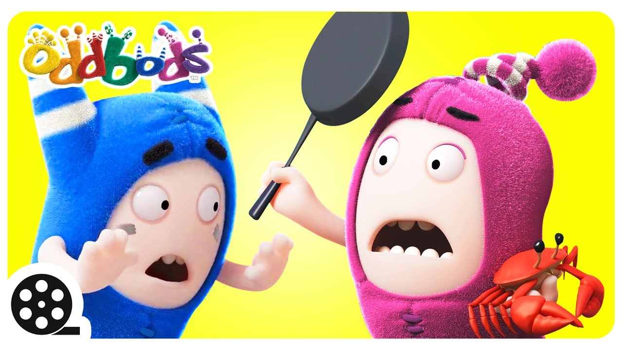 Cartoon | Oddbods - GRAB THE CRAB | Funny Videos For Kids