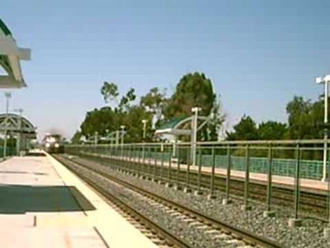 Thumbnail: Camera less then 5 feet away from near 90MPH AMTRAK SURFLINER