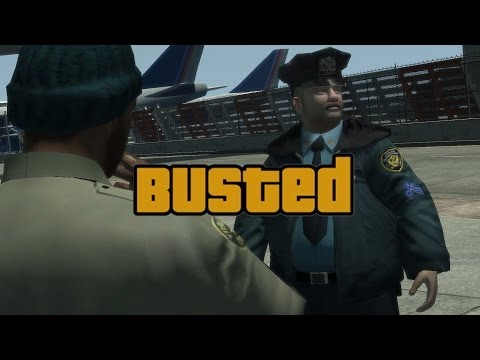 Top 10 GTA Busted Game Over Screens