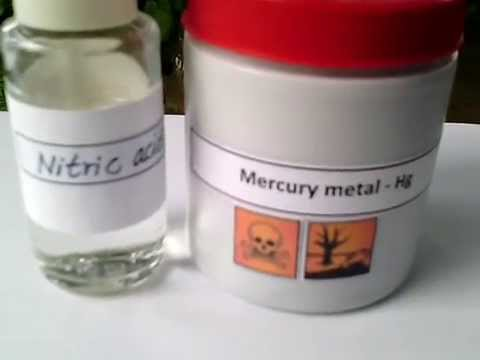How to make mercuric nitrate