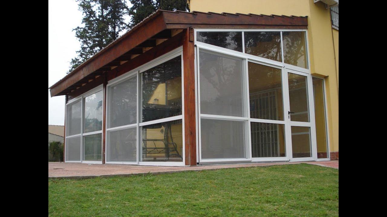 Casacocina cerramientos galer a y quinchos youtube - Cerramientos de aluminio para balcones ...