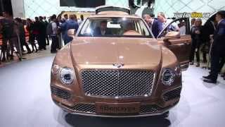 Автосалон во Франкфурте 2015 - Bentley Bentayga