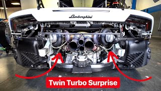 I'M GETTING A CRAZY TWIN TURBO ON MY LAMBORGHINI HURACAN!