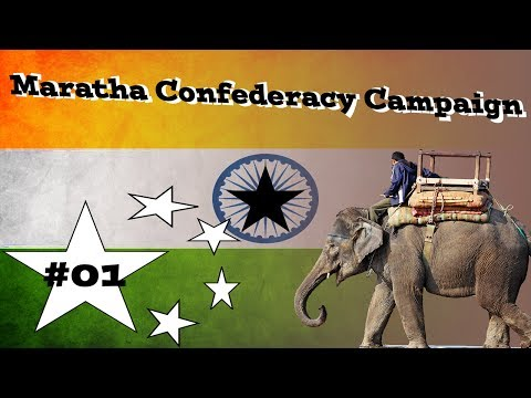 Empire TW ~ Maratha Confederacy Campaign ~ H/H ~ Part 1
