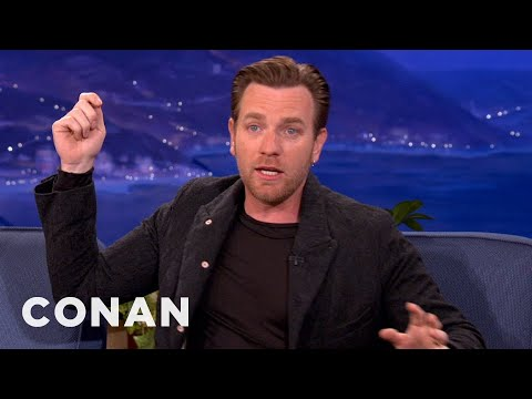 "Ewan McGregor On ""Salmon Fishing In The Yemen"" - CONAN on TBS"