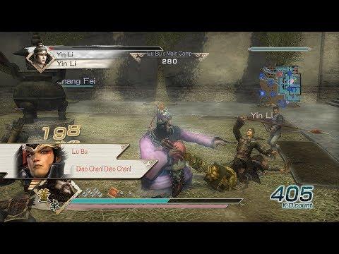 Dynasty Warriors 6 - Dong Zhuo Free Mode - Chaos Difficulty - Battle of Xia Pi