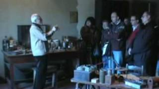 Villa Griffone , Casa di Guglielmo Marconi - Gita 14 Febbraio 2009 - Video IZØJXG