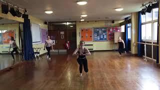 GCSE dance choreography 2018