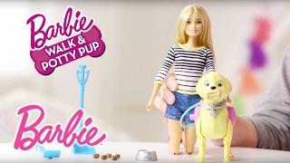 Barbie® Walk & Potty Pup Toy Tips | Barbie
