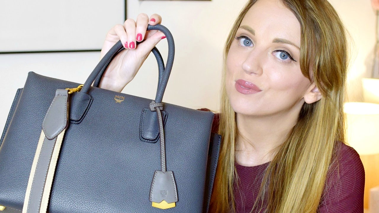 Mcm Milla Tote Unboxing Amp Review Paula Holmes Youtube
