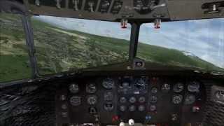 FSX | Flying the Douglas DC-3 Around Kona, Hawaii