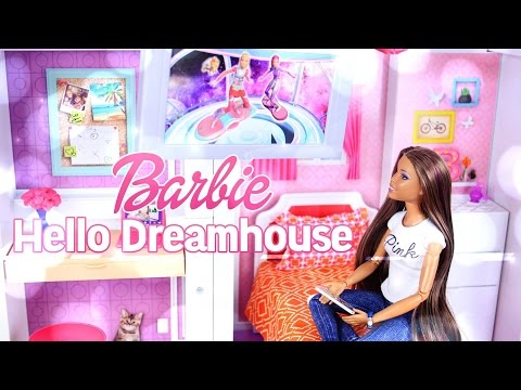 Toy Review: Hello Barbie Dreamhouse - Voice Activated - Smart Dollhouse - 4K