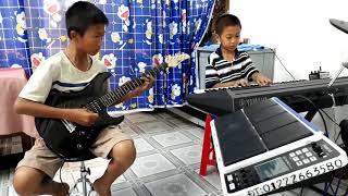Mấy Nhịp Cầu Tre - Hòa tấu Guitar Organ - Nhạc sống Phong Bảo