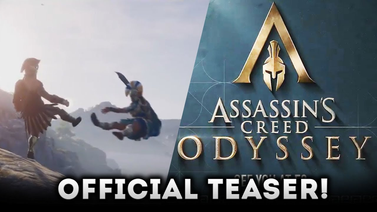 Assassins Creed Odyssey Official Teaser Ancient Greece E  Gameplay Trailer Expected Soon
