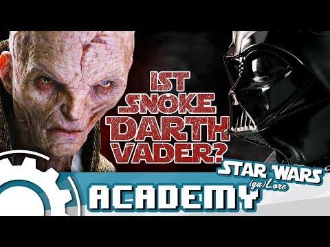 Ist Snoke Darth Vader? [FAN THEORY]