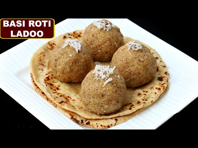 बची हुई रोटी से बनाये लड्डू in 1 Min | Basi Roti Ke Ladoo | Leftover Roti Recipe | CookWithNisha