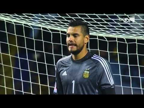 Argentina vs. Colombia - Copa America Quarterfinal - Full Penalty Shootout (HD + English Comm)