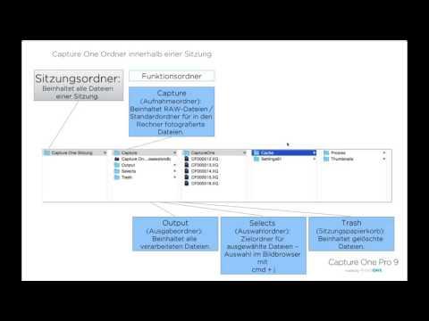 Capture One Pro 9 Webinar | Dateiverwaltung mit Capture One Pro 9 (DE)