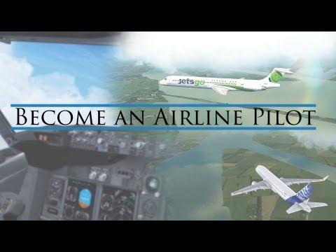FSX - Become an Airline Pilot.