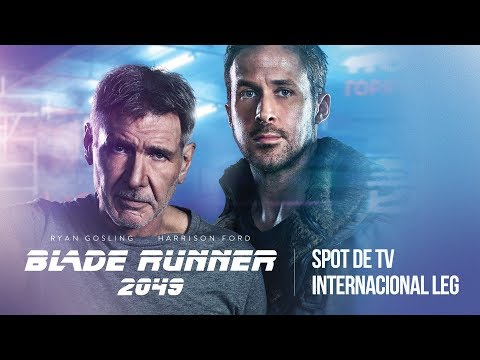 Blade Runner 2049  Spot de TV Internacional Legendado  5 de outubro nos cinemas