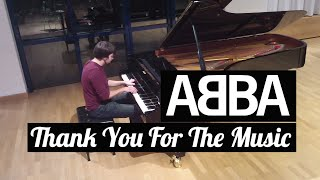 "ABBA - ""Thank You For the Music"" / Piano cover by Lucky Piano Bar (Eugene Alexeev)"