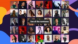 BRITs Awards 2020 Nominees
