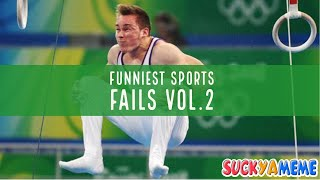 FUNNIEST SPORTS FAILS COMPILATION V2