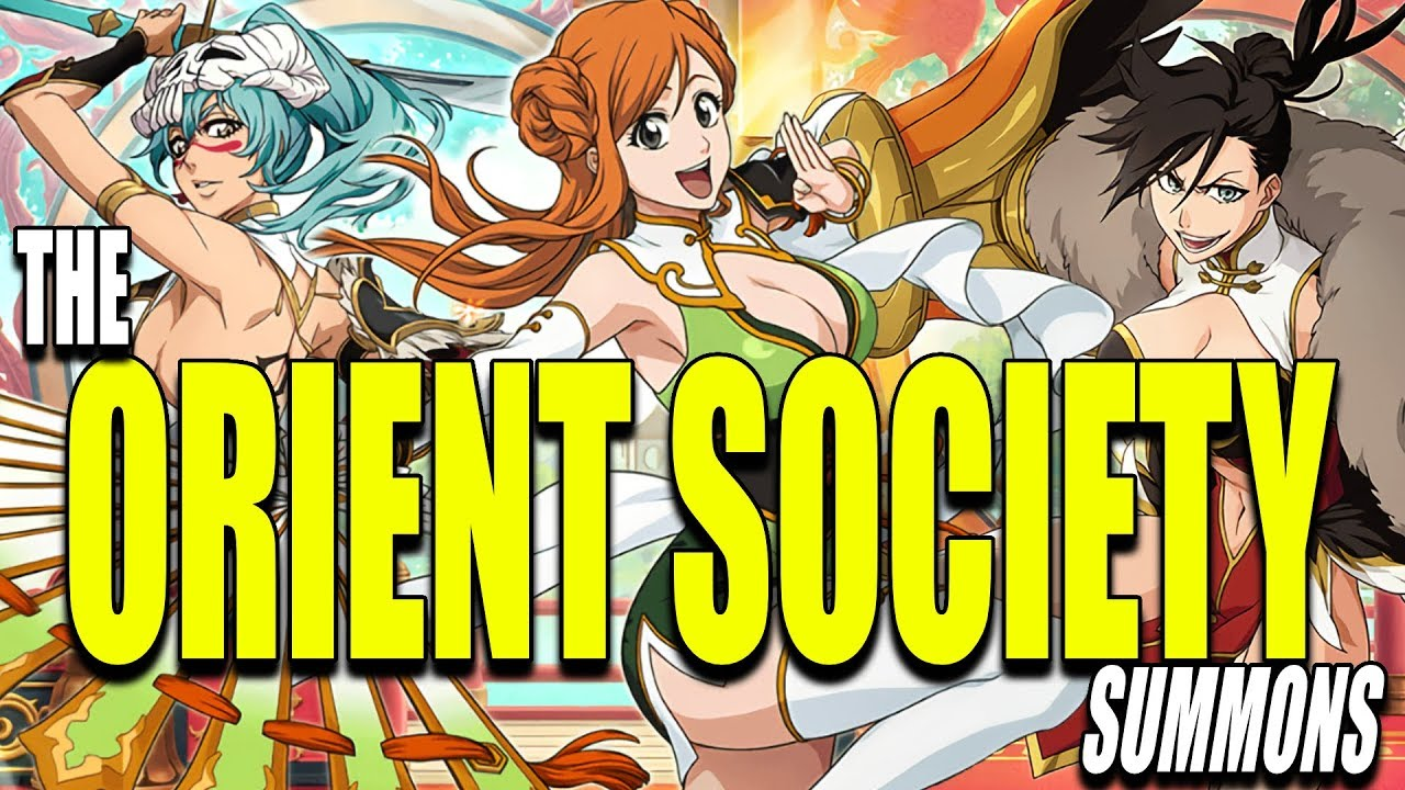 THE ORIENT SOCIETY ALL 11 STEPS SUMMONS Bleach Brave Souls #1