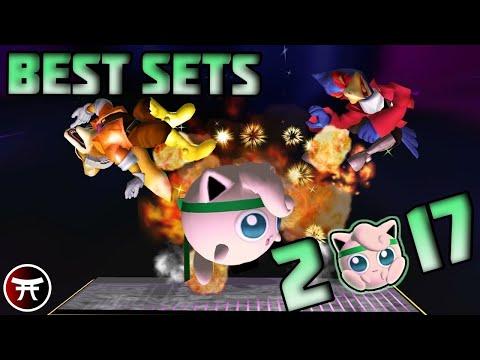 TOP 10 GREATEST MELEE SETS (2017) | Super Smash Bros
