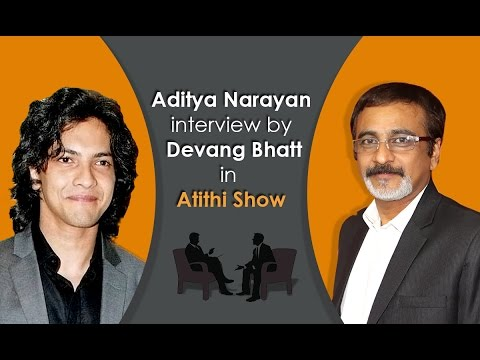 Bollywood Best Singer | Actor | Anchor Aditya Udit Narayan Interview by Devang Bhatt
