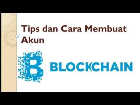 Cara buat akun BLOCKCHAIN