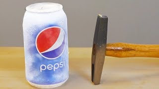 LIQUID NITROGREN vs PEPSI SMASHED