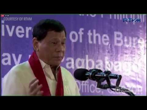 Duterte attends BIR anniversary