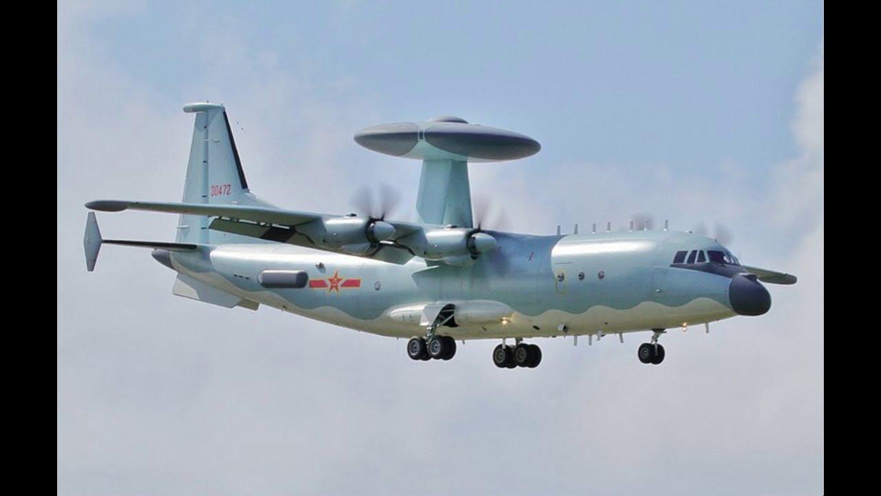 Limitations of Chinese AWACS aircraft