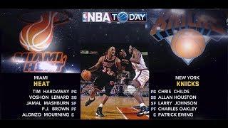 NBA 2K11 : 1997 Miami Heat vs. New York Knicks   4K PC
