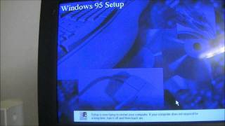 Windows 95 Upgrade the Old Fashion Way!
