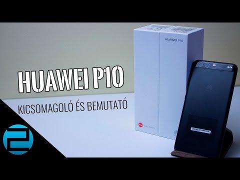 Huawei P10 kicsomagoló és bemutató