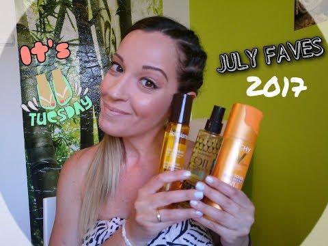 JULY FAVES 2017 Valia's Beauty Tips