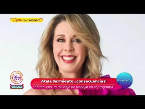 Atala Sarmiento habla sobre su salida de Ventaneando | Sale el Sol