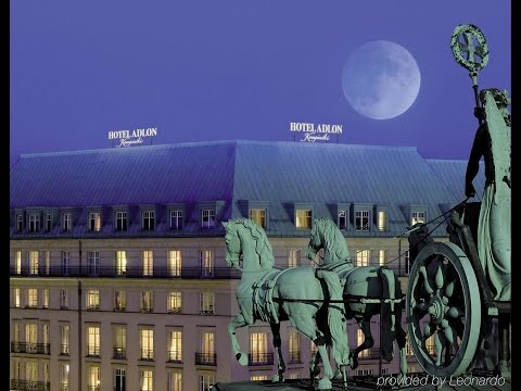 The legendary Adlon Hotel in Berlin