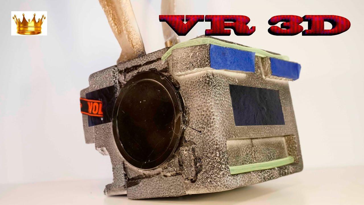 73c34b96279a DIY  VR 3D HEADSET HELMET Make Your Own (Oculus Rift) FOR 2  4k ...