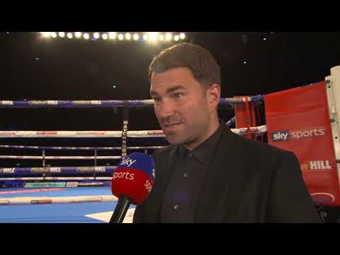"""""""I believe Anthony Joshua vs Deontay Wilder WILL BE SIGNED in three to four weeks!"""" - Eddie Hearn"""