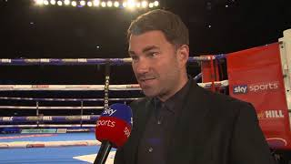 """I believe Anthony Joshua vs Deontay Wilder WILL BE SIGNED in three to four weeks!"" - Eddie Hearn"