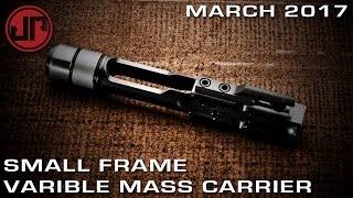 march 2017 new product showcase small frame variable mass carrier