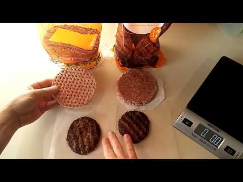 Frozen Burgers Review Aldi Vs  Walmart - YouTube