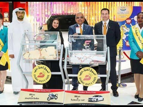 Dubai Duty Free Series MM313 And MM314 $ 1 Million  Winner 22 October 2019