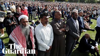 Yusuf Islam, survivors and leaders pay tribute at Christchurch memorial service